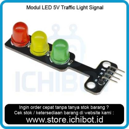 Modul LED 5V Traffic Light Signal