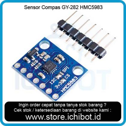 Sensor Compas GY-282 HMC5983 High Precision Three Axis Magnetic Field