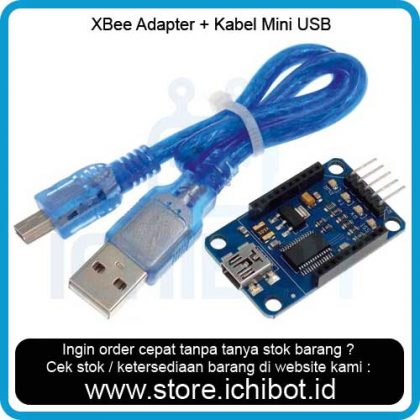 XBee / Bluetooth Bee Adapter USB Adapter + Kabel Mini USB