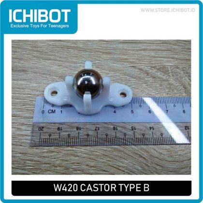 W420 Castor Type B Steel Ball Universal Wheel