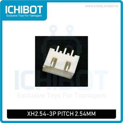 Socket XH2.54 3P pitch 2.54mm Lurus