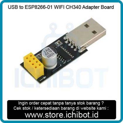 USB to ESP8266-01 WIFI 3H340 Adapter Board