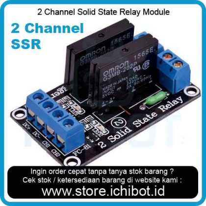 2 Channel Solid State Relay Module SSR